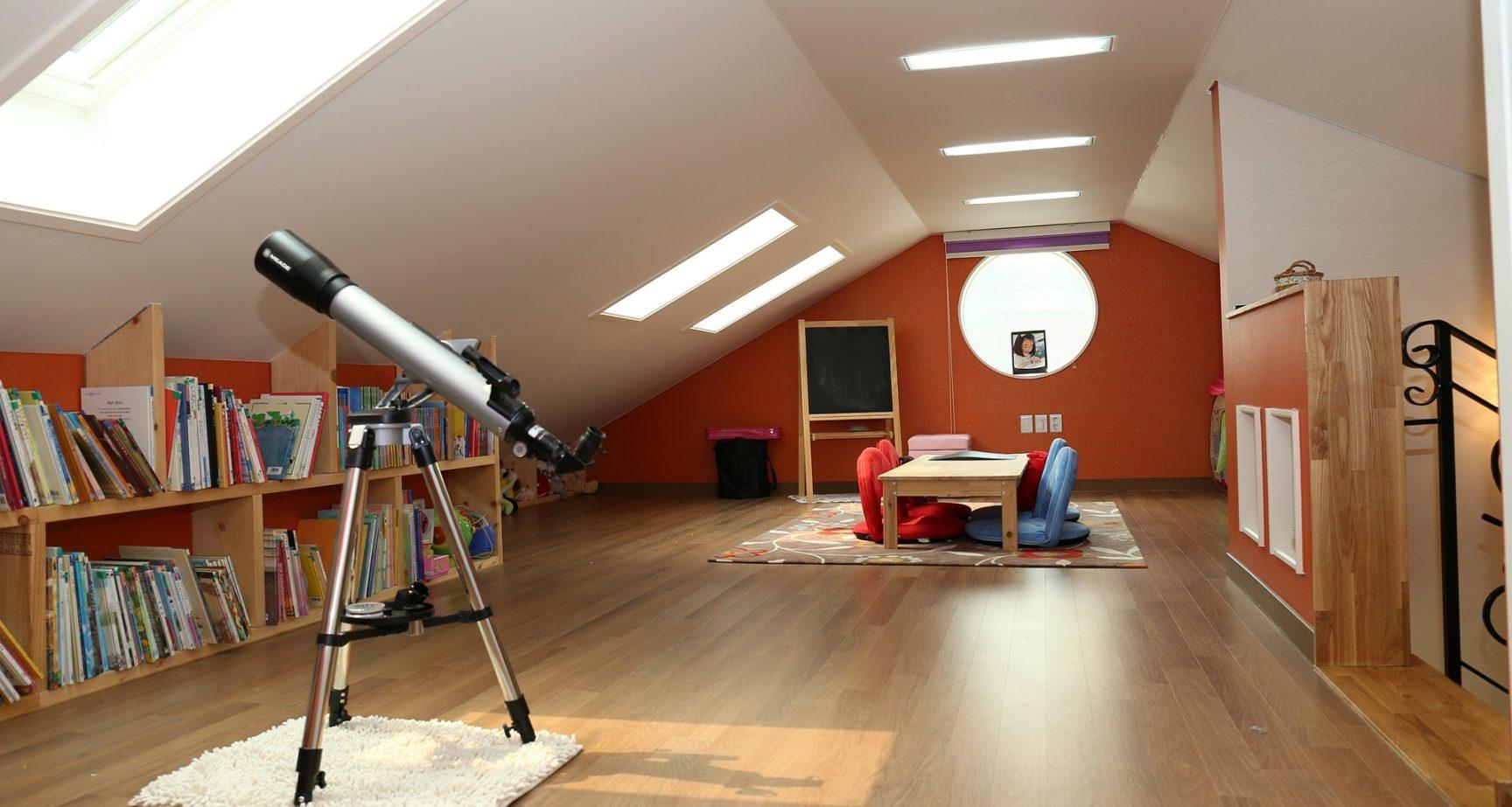 Förbättra husets funktionalitet med en vind